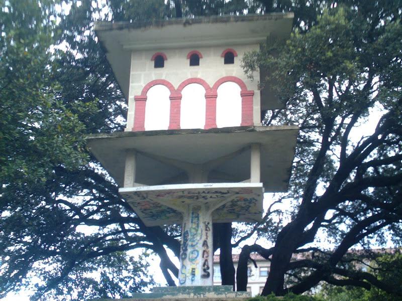Palomar en el Parque Mendicouague en Santander