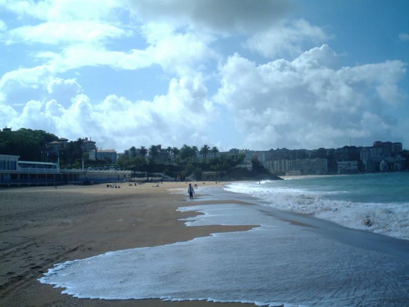 Primera Playa de El Sardinero en Santander