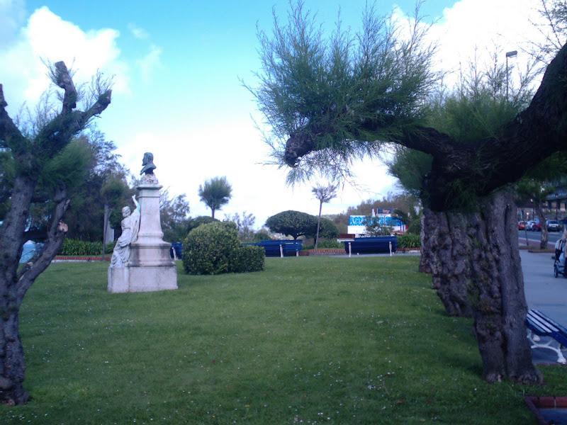 antiguos Jardines de San Roque en Santander