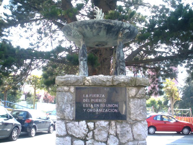 escultura en el Barrio San Francisco de Santander