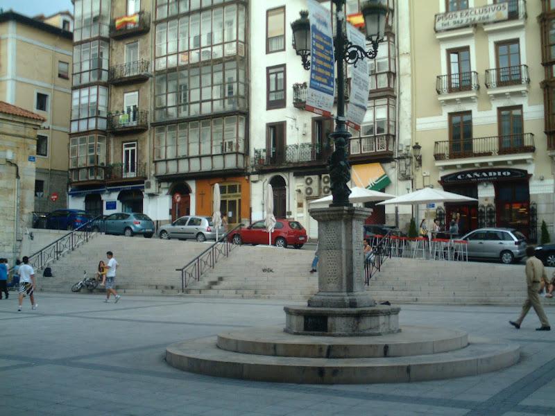 Plaza de Cañadio en Santander