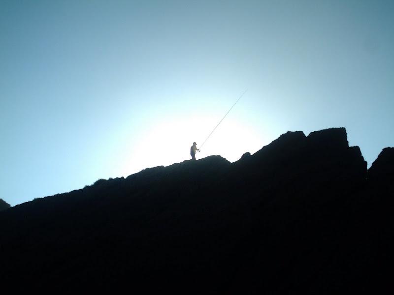Pescador en Liencres