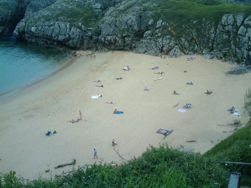 Playa de Somocuevas en Liencres