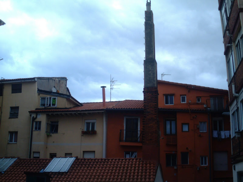 chimenea en Santander