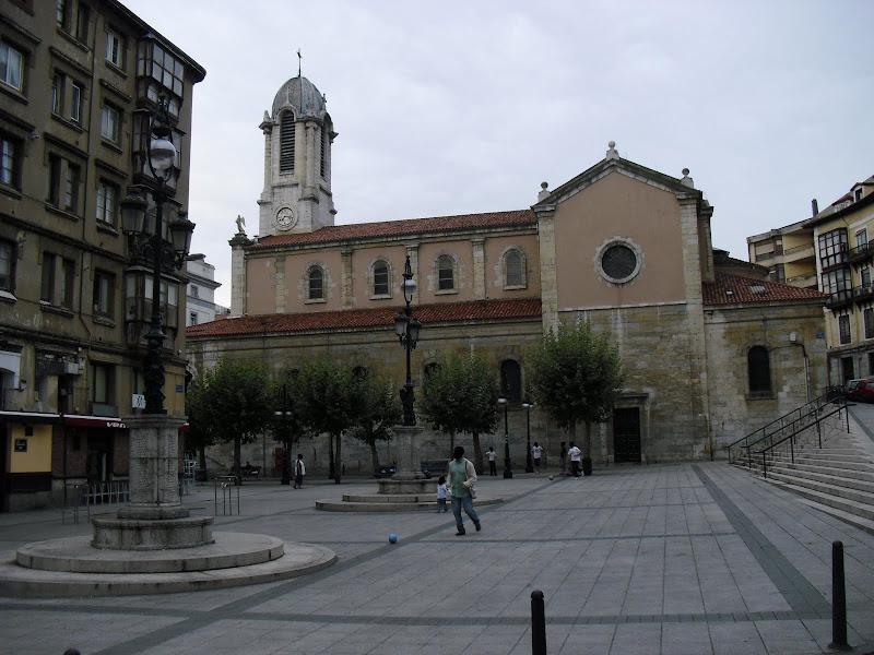 Iglesia de Santa Lucía en Santander