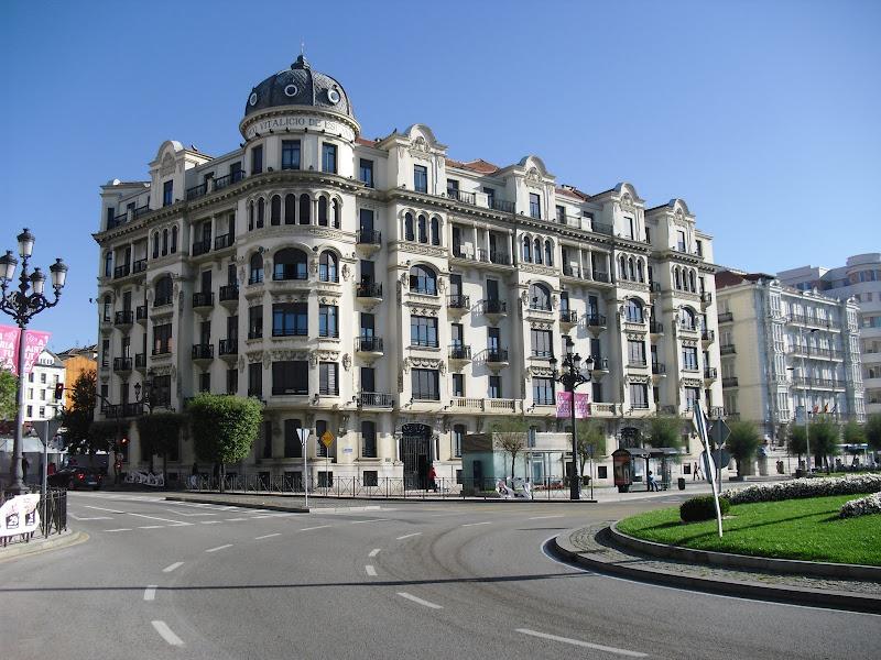 Edificio Banco Vitalicio en Santander