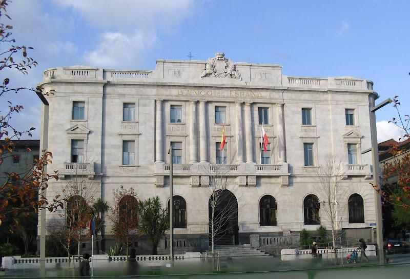 Edificio del Banco de España en Santander