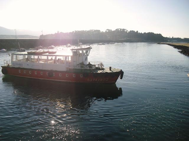 Pedreña a Somo en barca