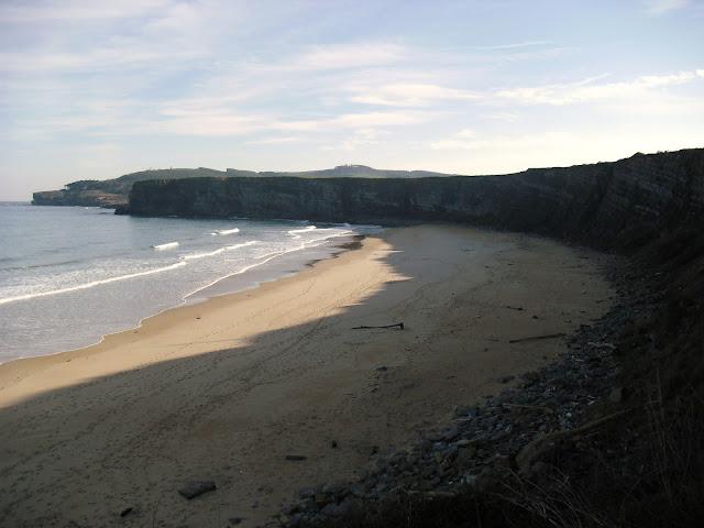 Playa de Langre en Cantabria
