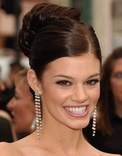 celebrity updo hairstyles. One of the hottest hair trends this year is updo