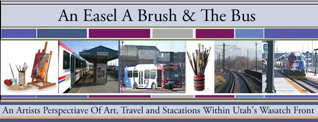 An Easel A Brush And The Bus
