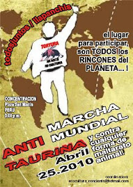MARCHA MUNDIAL ANTI-TAURINA