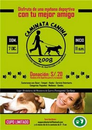 DOM. 7 de DIC. CAMINATA A FAVOR DE LOS ANIMALES EN SAN BORJA