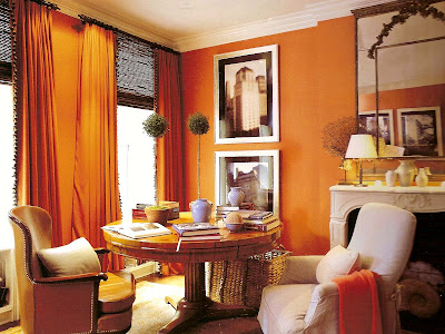 1000 images about pumpkin walls on pinterest orange for Pumpkin spice paint living room