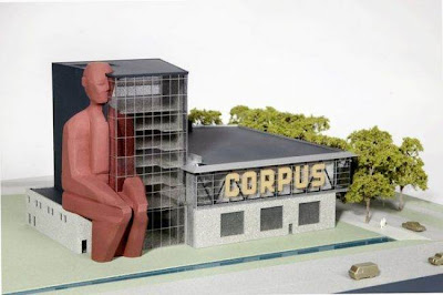 building in Netherlands charts human body