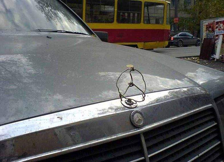 Best mercedes benz sign ever made