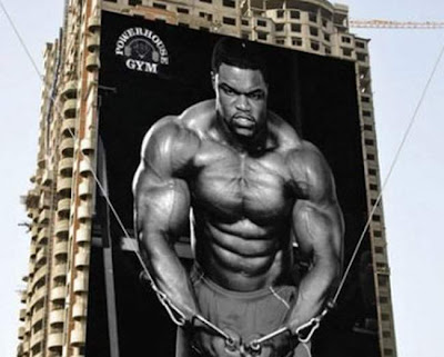 Powerhouse Gym ads