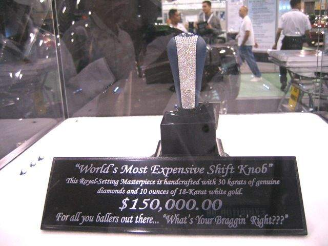 Most Expensive Gear Shift Knob