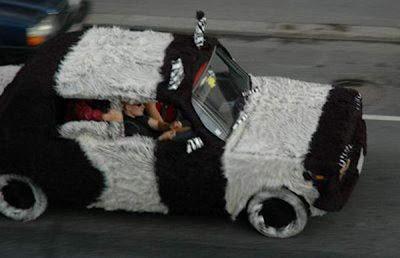 strange car exterior