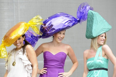 Wonderful ladies hats at Royal Ascot