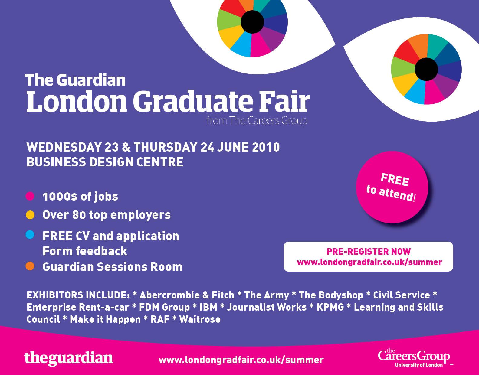 Awesome Graduate Recruitment Bureau Meet Grb At The Guardian London Interior Design Ideas Oteneahmetsinanyavuzinfo
