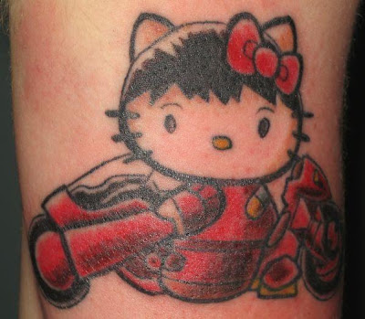 Anime Tattoos on Style Body Tattoo  Anime Tattoo