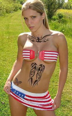 American Virgin Tattoo Style