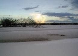 Praia no Aracá