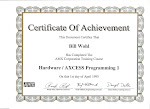 AMX Certification 1995