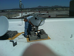 Updating Roof of Terminal Three Communications Center