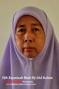 Cikgu Hjh Rosminah Binti Hj Abd Rahim