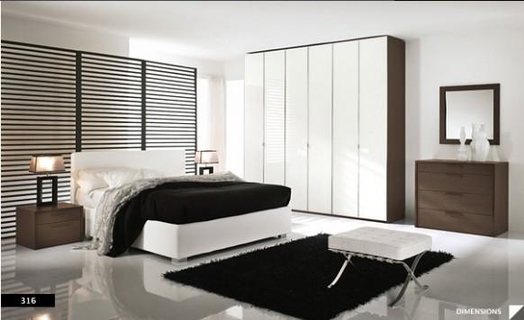 Hermosas habitaciones de estilo moderno