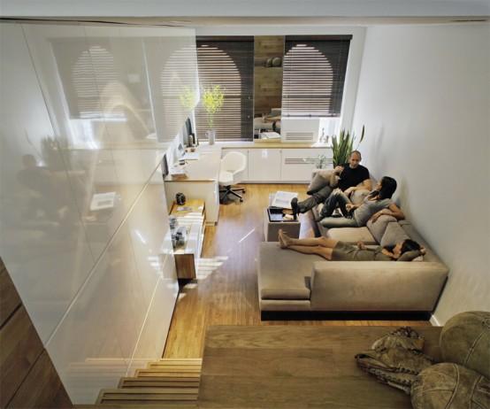 Diseño y decoración de un departamento pequeño de bajo costo ...