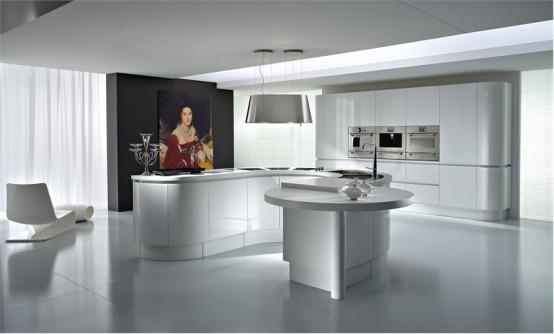 ideas de dise o de cocinas en blanco y negro decorando mejor. Black Bedroom Furniture Sets. Home Design Ideas