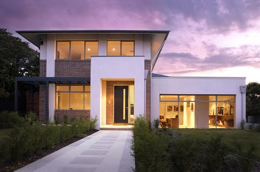 Plano de casa moderna de 4 habitaciones y 391 metros for Casa moderna 50 metros cuadrados