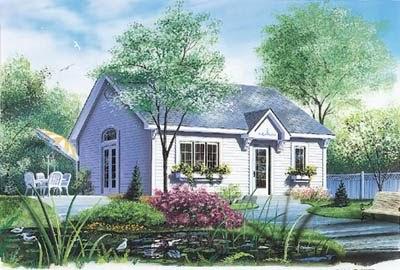 Plano De Peque A Casa De Una Habitaci N Planos De Casas