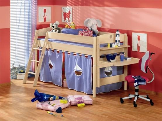 Interior design camas para ni os muy divertidas - Camas divertidas infantiles ...