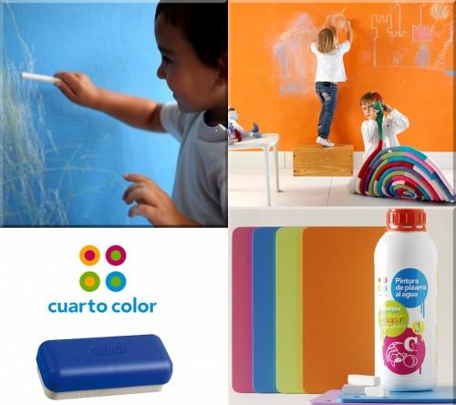 Pintura pizarra para habitaciones infantiles bebes y embarazo - Pinturas para habitaciones de bebes ...