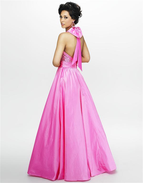 Vestidos galeria: Vestido de fiesta de color rosado
