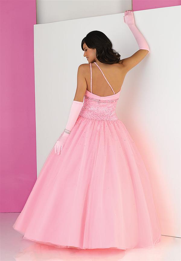 Vestidos de Fiesta: Vestido para fiesta de 15 años de color rosado ...