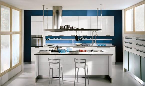 Modernas cocinas de estilo italiano por scavolini   modern style ...