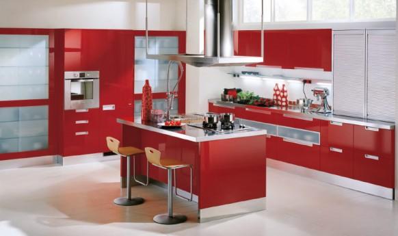 Modernas cocinas de estilo italiano por Scavolini - Modern Style ...