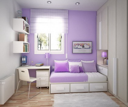 Decoracion Diseo Decora tu habitacin en color lavanda o lila
