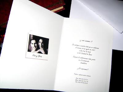 INVITACIONES PARA MATRIMONIOS