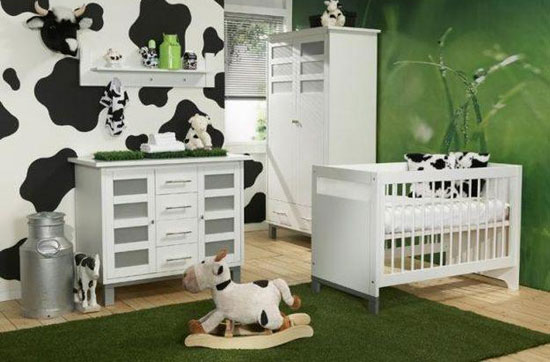 Interior sweet design decoracion de interiores for Cuartos para bebes modernos