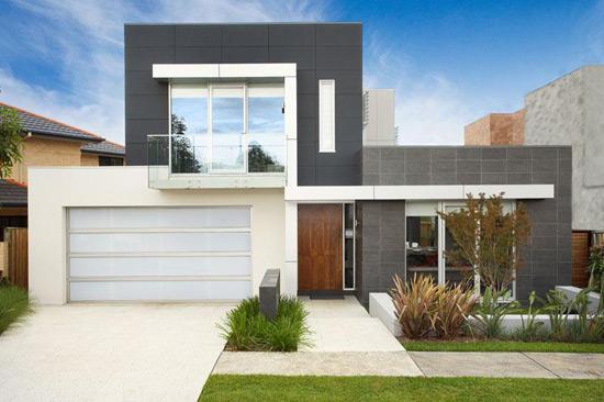 casas modernas por dentro. Fachada moderna de Casas