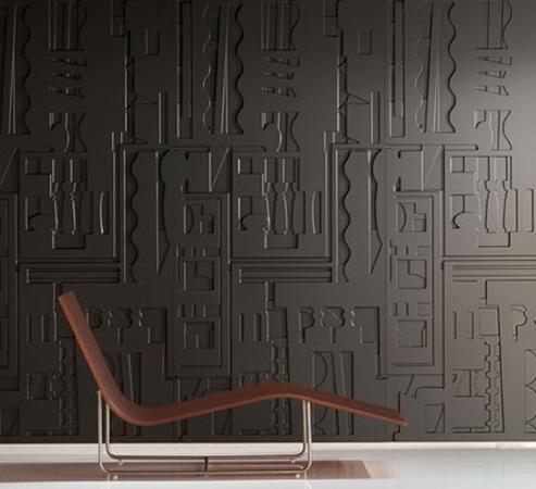 Paneles decorativos de la pared interior en una variedad de acabados ...