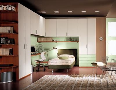 Moderno niños muebles de dormitorio