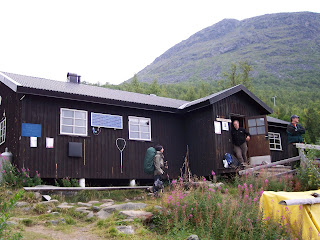 Vakkotavare Stugorna on the Kungsleden