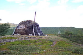 Sami Hut on the Kungsleden  - Kings Trail - King of Trails